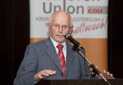 Hubert Deittert bei der Gründugsveranstaltung der SU Rietberg