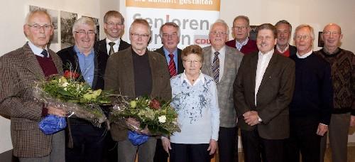 Der Vorstand der neu gegründeten Senioren Union Rietberg